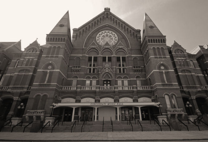 Cincinnati Music Hall - Click for link to the CSO's website