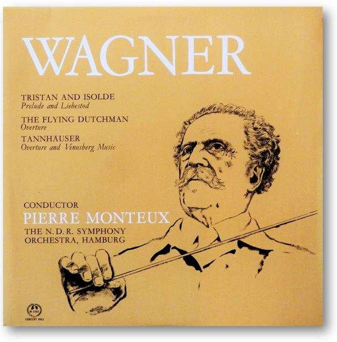 Monteux conducts Wagner - Click to go to Download Page