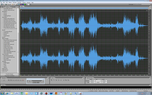 Adobe Audition CS5.5 screen shot