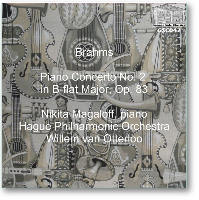 GSC047 - Brahms Piano Concerto No. 2 - Click to view Purchase page