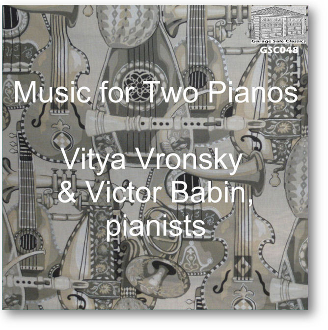 GSC048 - Music for Two Pianos - Click to view Purchase page