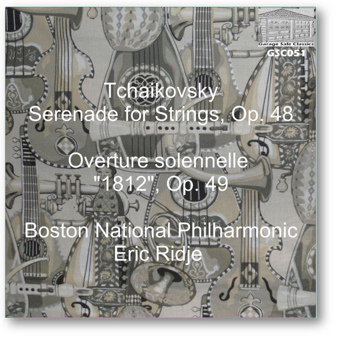 GSC051 - Tchaikovsky Serenade/1812 Overture - Click to view Purchase page