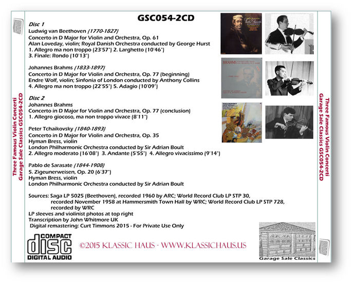 GSC054-2CD tray - Click for a larger image