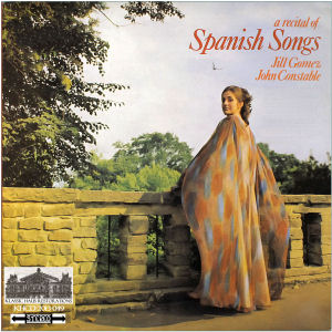 KHCD-2013-049 (STEREO) - A recital of Spanish Songs - Jill Gomez, soprano; John Constable, piano - Click for an MP3 sample
