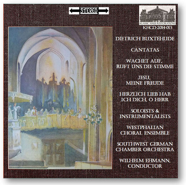 Buxtehude Cantatas - Go to Purchase Page