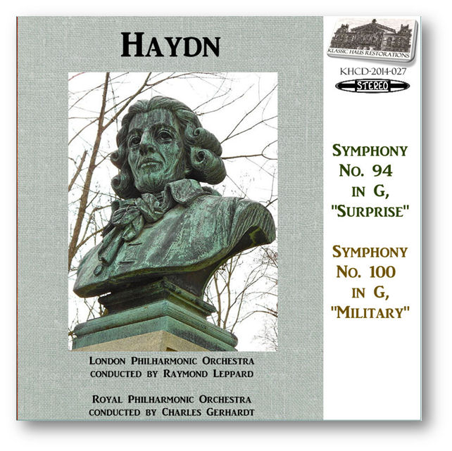 KHCD-2014-027 (STEREO) - Haydn: Symphony No. 94 & No. 100 - Click to view/purchase