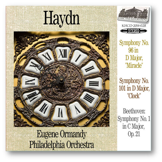 KHCD-2014-028 (STEREO) - Haydn: Symphony No. 96 & No. 101; Beethoven: Symphony No. 1 - Click to view/purchase