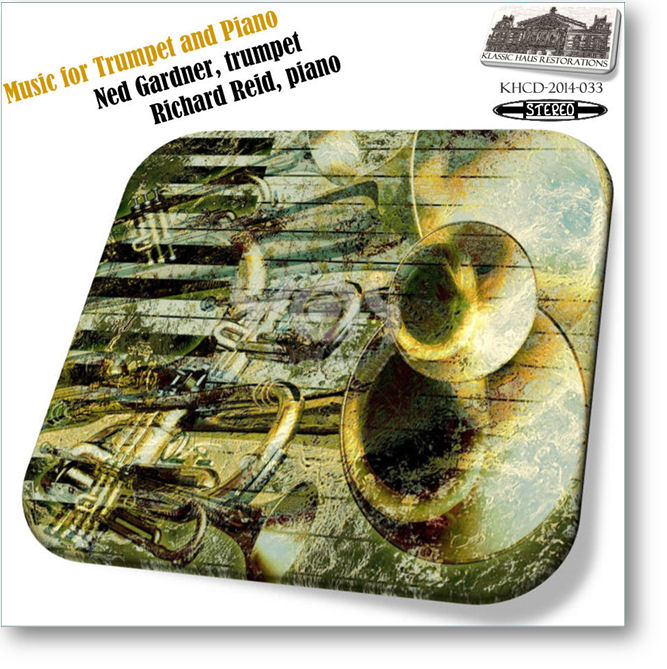KHCD-2014-033 - Music for Trumpet & Piano - Click to go to view/purchase page