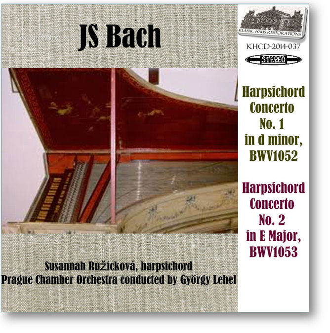 KHCD-2014-037 - JS Bach Harpsichord Concerti Nos. 1&2 - Click to go to Preview/Purchase Page