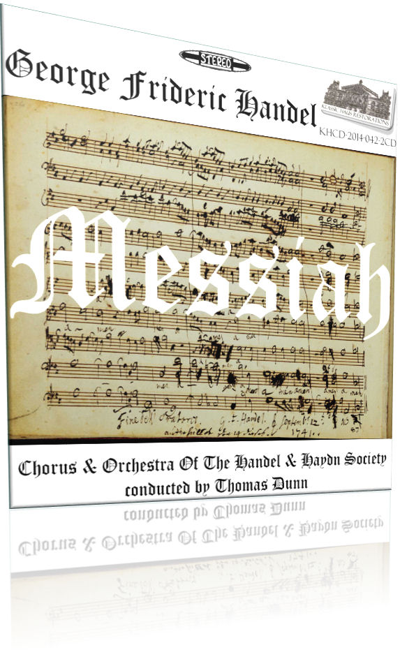 Handel: Messiah - Click to go to view/purchase page