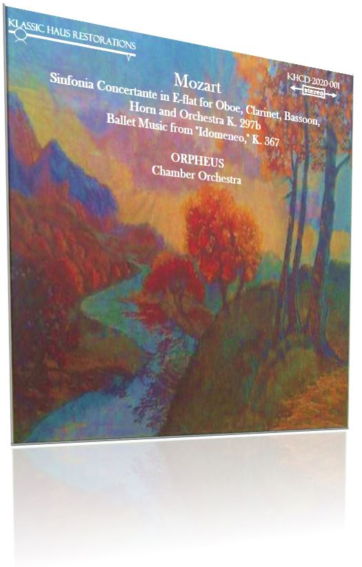 KHCD-2020-001: Orpheus Chamber Orchestra first recording  - Click to view Purchase page and audition an MP3 sample