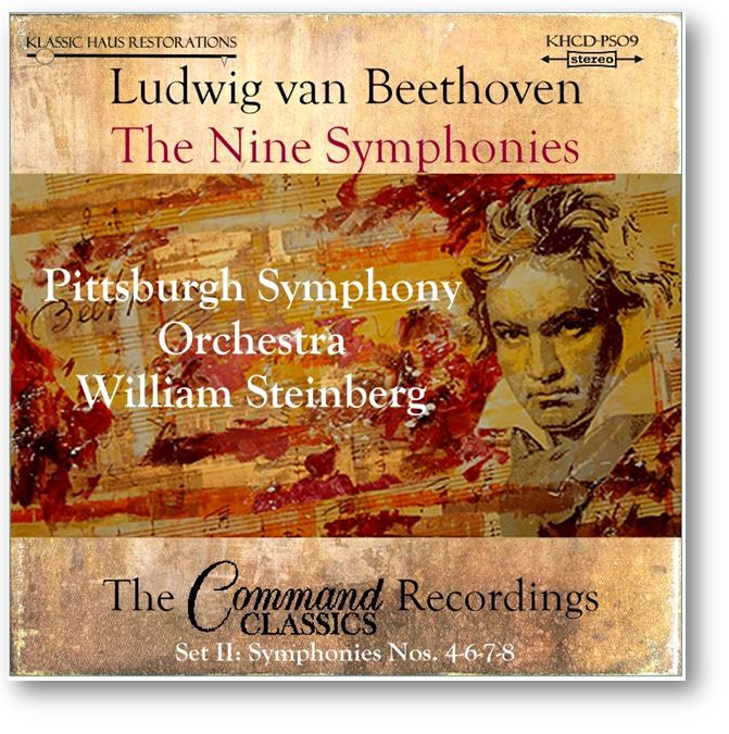 Beethoven Symphonies Nos. 4-6-7-8 - Click below to order CD set, FLACs or MP3