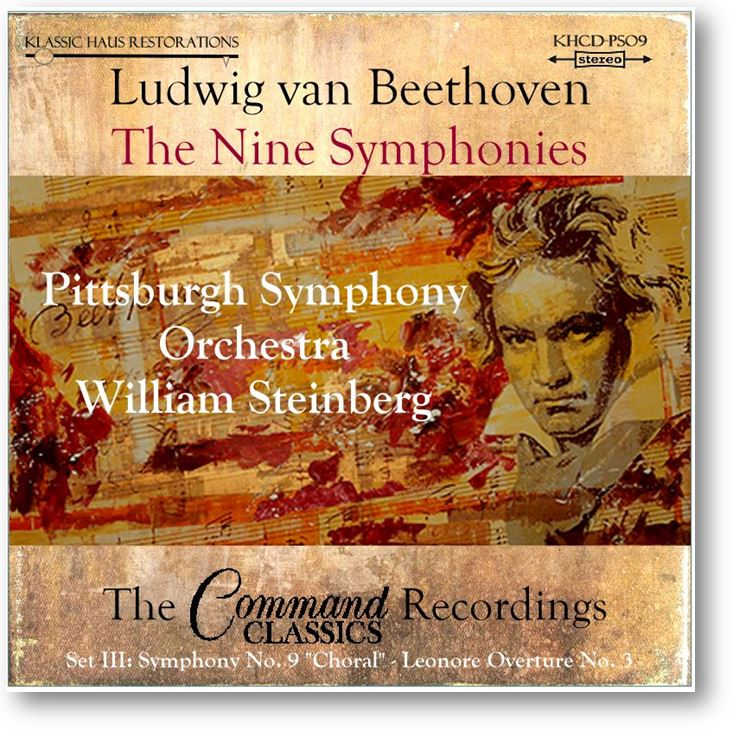 Beethoven Symphony No. 9 & Leonore Overture No. 3 - Click below to order CD, FLACs or MP3