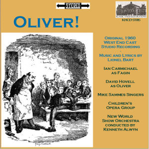 KHCD-ST015 - Olviver! West End Cast recording - click for an MP3 sample