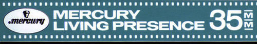 Mercury Living Presence 35mm logo