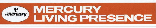 Mercury Living Presence logo late 50s